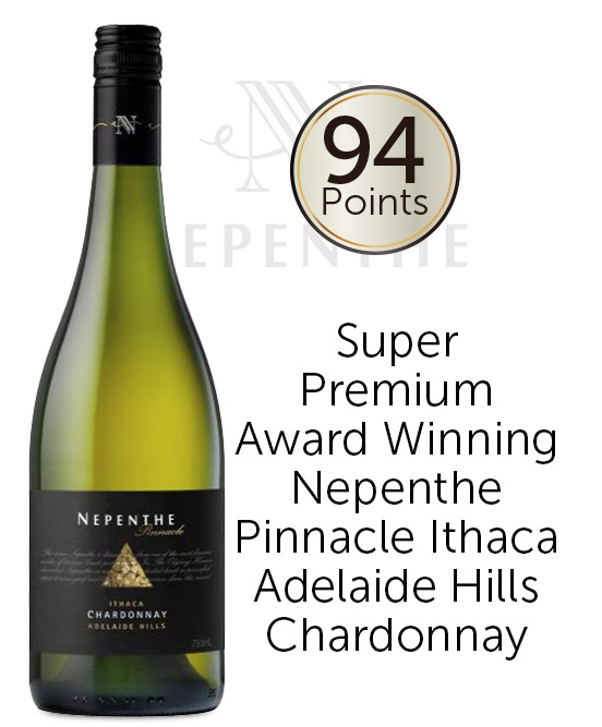 Nepenthe Pinnacle Ithaca Adelaide Hills Chardonnay 2017