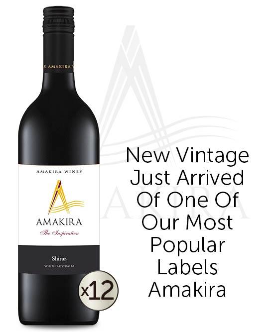 Amakira The Inspiration Shiraz 2020 Dozen
