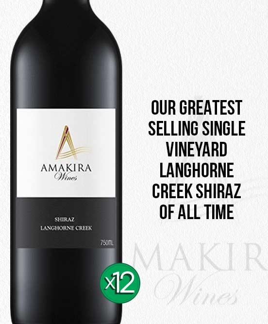 Amakira Langhorne Creek Shiraz 2017 Dozen