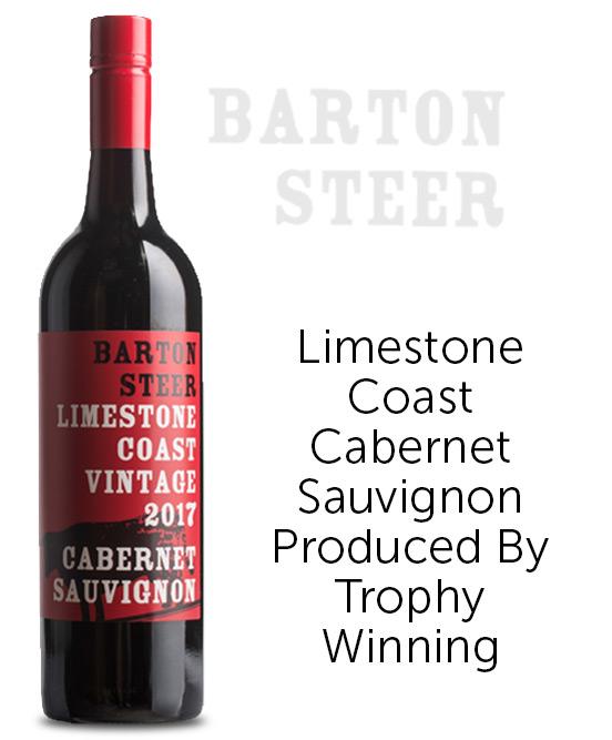 Barton Steer Limestone Coast Cabernet Sauvignon 2017