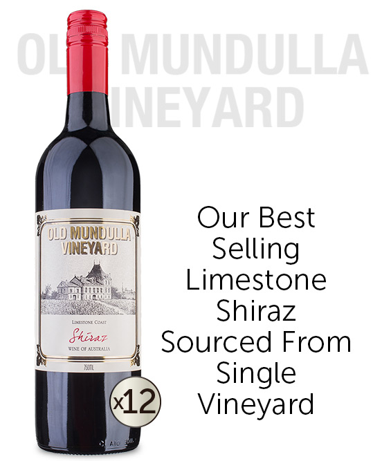 Old Mundulla Vineyard Limestone Coast Shiraz 2017 Dozen