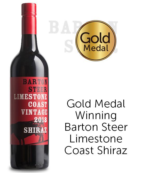 Barton Steer Limestone Coast Shiraz 2018