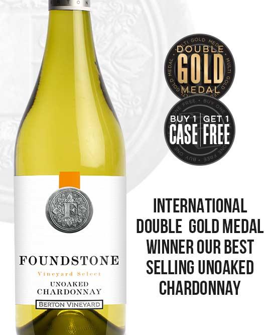 Berton Vineyards Foundstone Unoaked Chardonnay 2018