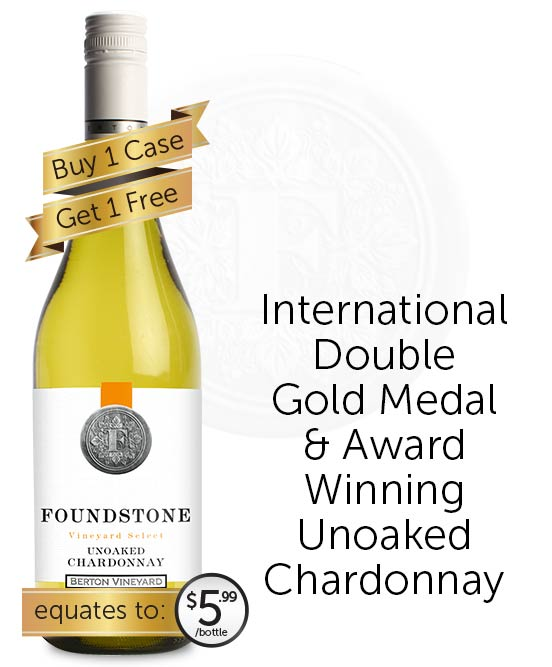 Berton Vineyards Foundstone Unoaked Chardonnay 2019