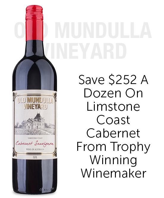 Old Mundulla Vineyard Limestone Coast Cabernet Sauvignon 2019