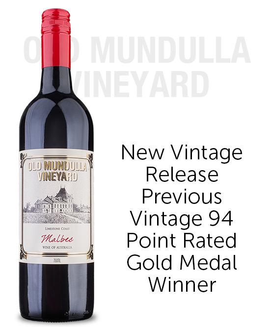 Old Mundulla Vineyard Limestone Coast Malbec 2019
