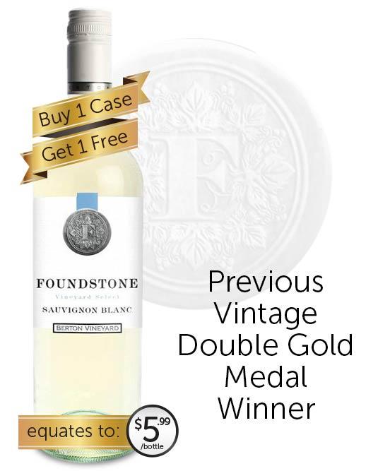 Berton Vineyards Foundstone Sauvignon Blanc 2020
