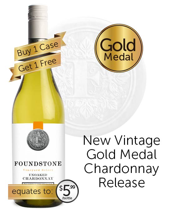 Berton Vineyards Foundstone Unoaked Chardonnay 2020