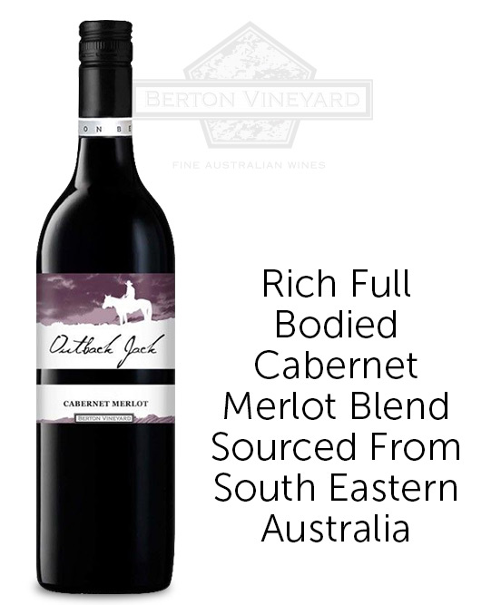 Berton Vineyards Outback Jack Cabernet Merlot 2020