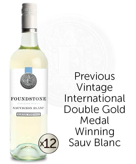 Berton Vineyards Foundstone Sauvignon Blanc 2021 Dozen