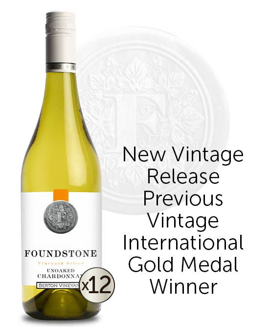 Berton Vineyards Foundstone Unoaked Chardonnay 2021 Dozen