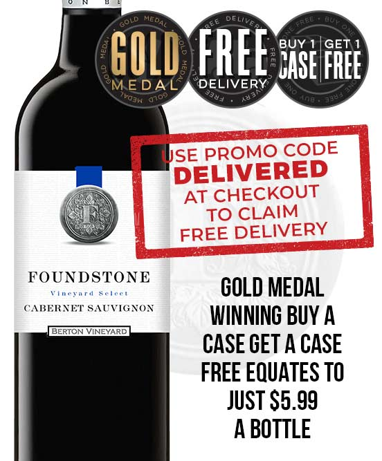 Berton Vineyards Foundstone Cabernet Sauvignon 2017