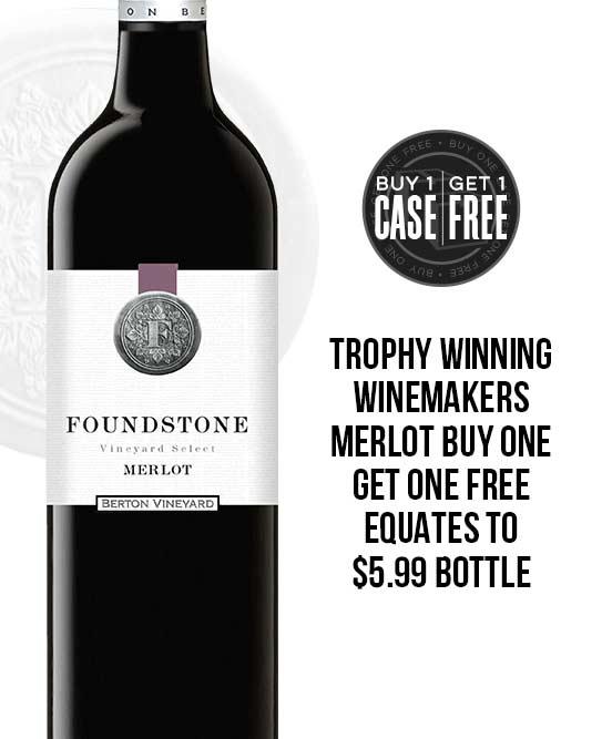 Berton Vineyards Foundstone Merlot 2018