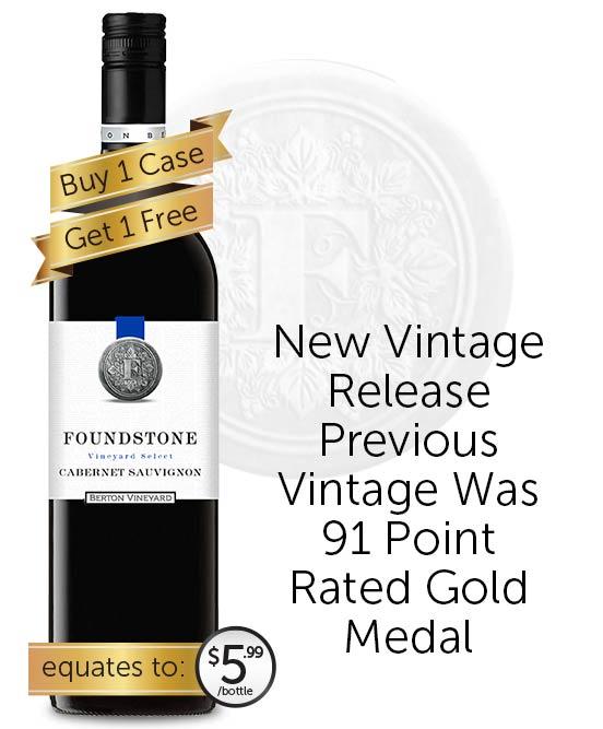 Berton Vineyards Foundstone Cabernet Sauvignon 2019