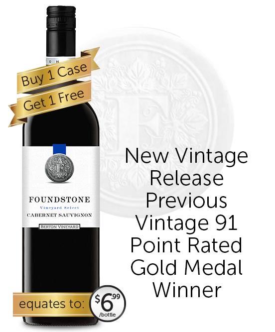 Berton Vineyards Foundstone Cabernet Sauvignon 2020