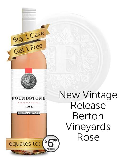 Berton Vineyards Foundstone Rose 2021