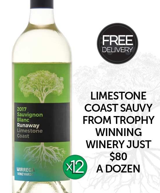 Wirrega Vineyards Limestone Coast Sauvignon Blanc 2017 Dozen