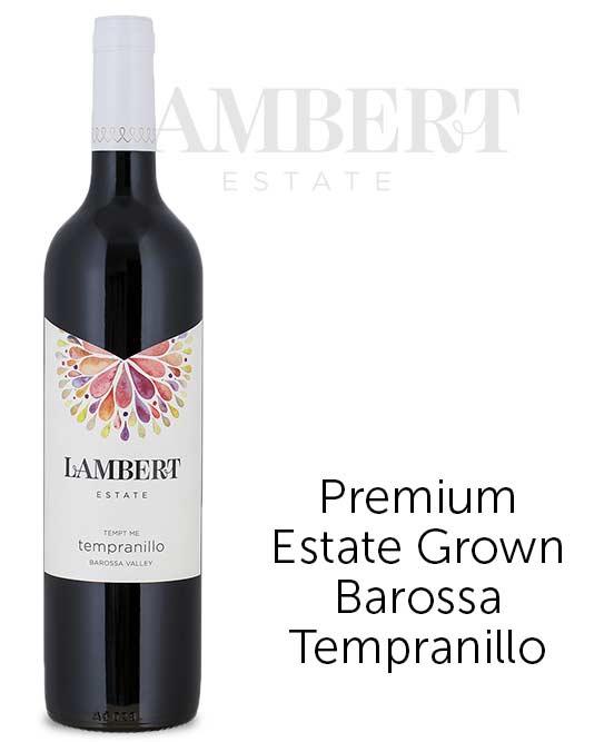 Lambert Estate Tempt Me Barossa Valley Tempranillo 2013