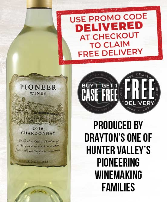 Drayton's Pioneer Wines Hunter Valley Chardonnay 2016