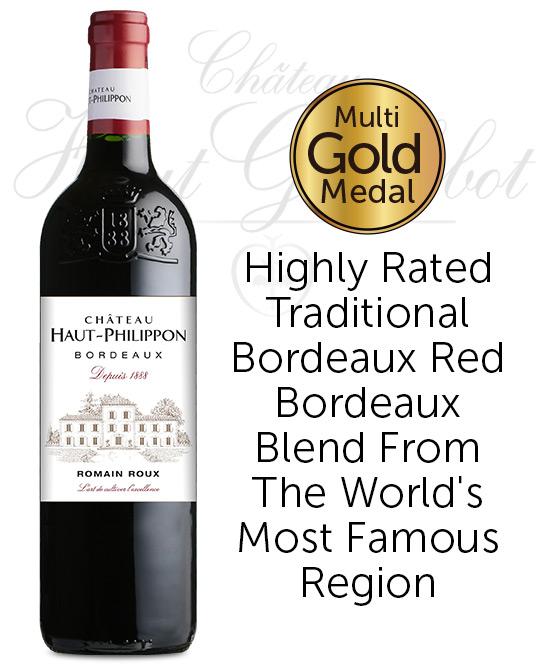 Chateau Haut Philippon AOP Bordeaux Rouge 2019