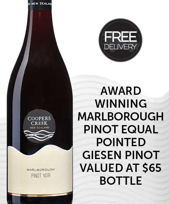 Coopers Creek Marlborough Pinot Noir 2016