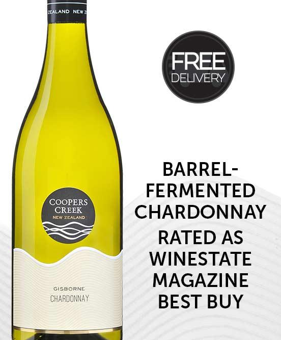 Coopers Creek Gisborne Chardonnay 2017