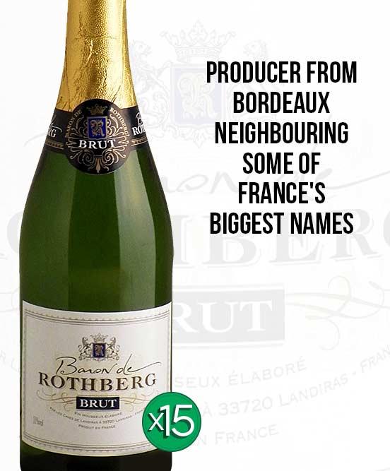Baron de Rothberg French Brut Nv Bundle