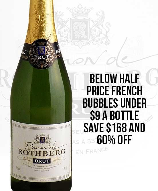 Baron de Rothberg French Brut Nv