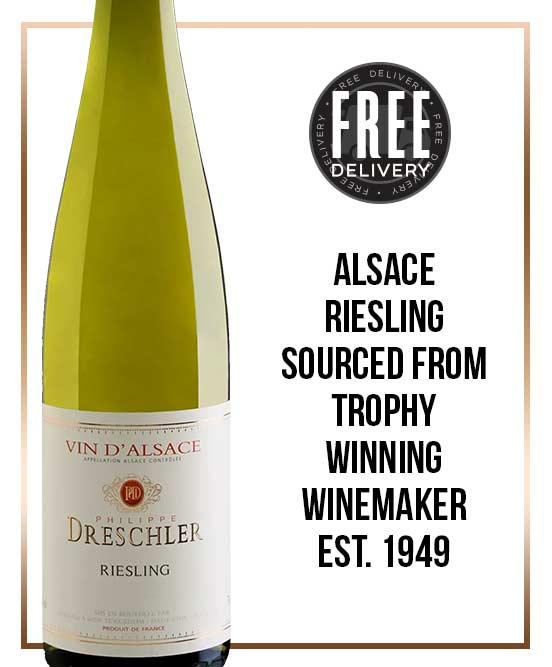 Philippe Dreschler Vin D'Alsace Riesling 2017