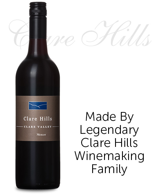 Clare Hills Clare Valley Merlot 2017 By Pikes