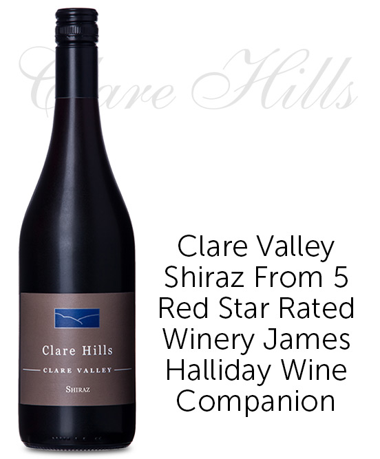 Clare Hills Clare Valley Shiraz 2018