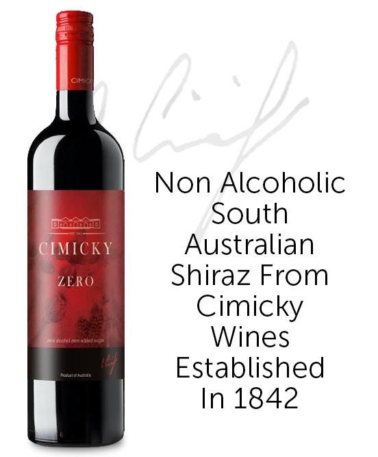 Cimicky Zero Non Alcoholic Shiraz