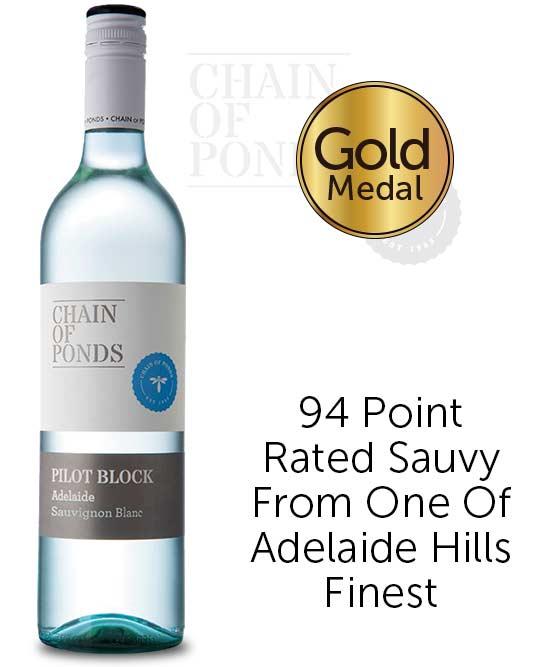 Chain Of Ponds Pilot Block Adelaide Hills Sauvignon Blanc 2018