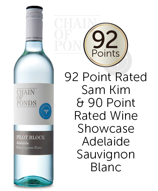 Chain Of Ponds Pilot Block Adelaide Sauvignon Blanc 2020