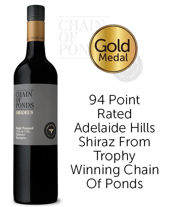 Chain of Ponds The Ledge Adelaide Hills Shiraz 2017
