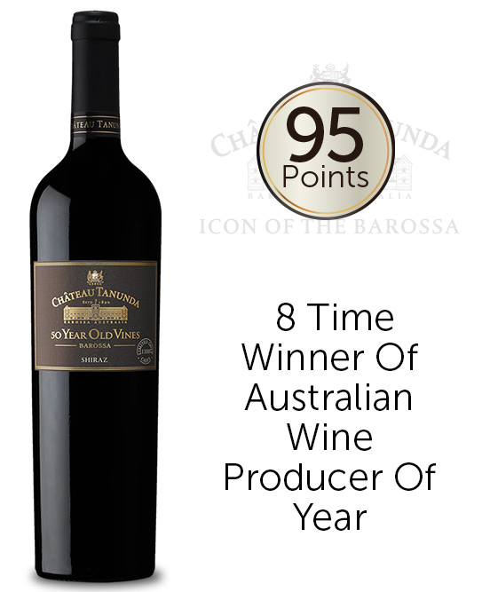 Chateau Tanunda 50 Year Old Vines Barossa Shiraz 2017
