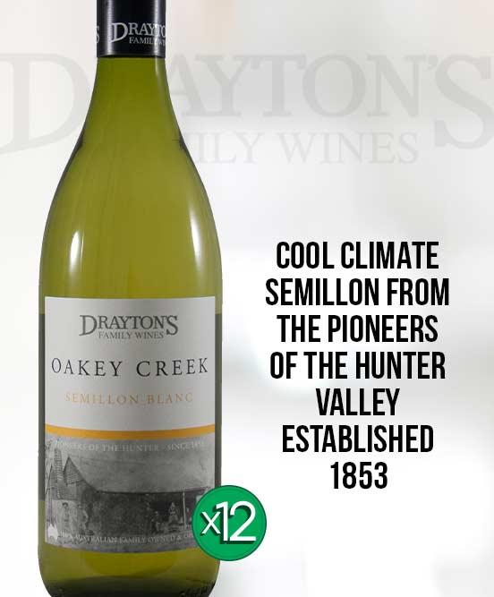 Draytons Family Oakey Creek Semillon Blanc 2013 Dozen