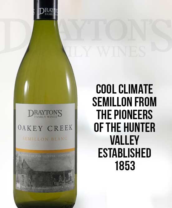 Draytons Family Oakey Creek Semillon Blanc 2013