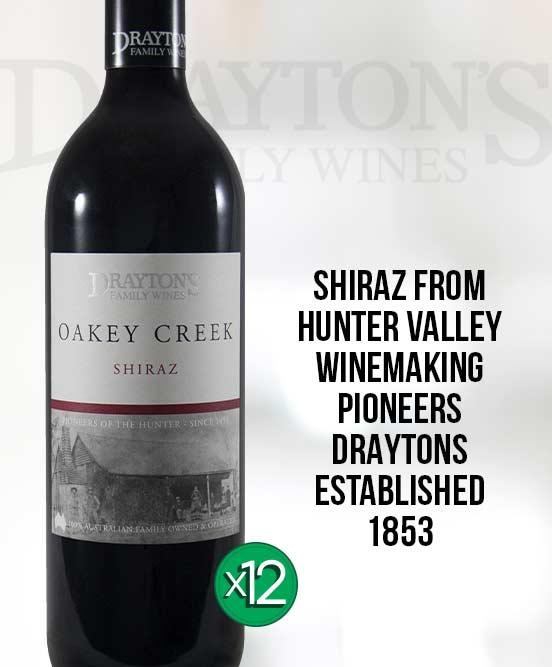 Draytons Family Oakey Creek Shiraz 2013 Dozen