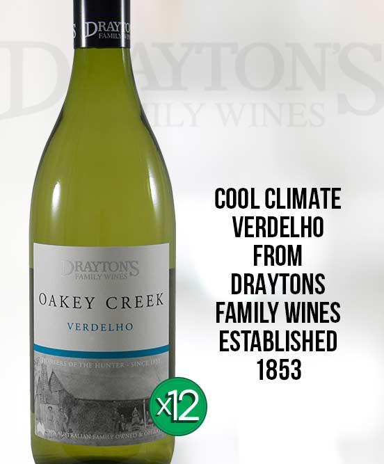 Draytons Family Oakey Creek Verdelho 2014 Dozen