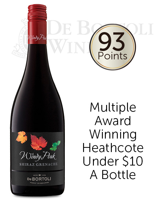 De Bortoli Windy Peak Heathcote Shiraz Grenache 2017