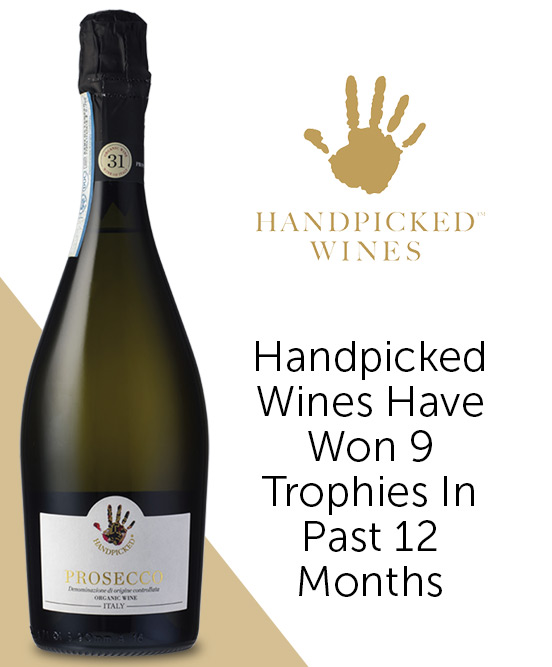 Handpicked Wines Regional Selection Italian Organic Prosecco DOC Nv
