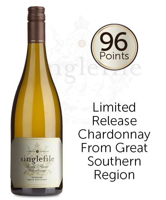 Singlefile Wines Great Southern Denmark Family Reserve Chardonnay 2018