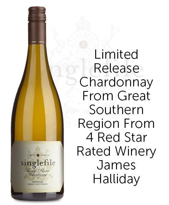 Singlefile Wines Great Southern Denmark Family Reserve Chardonnay 2019