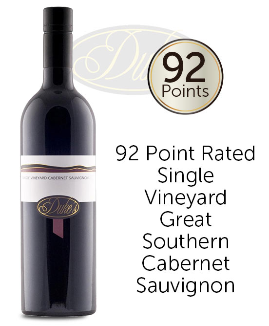 Dukes Single Vineyard Great Southern Cabernet Sauvignon 2017