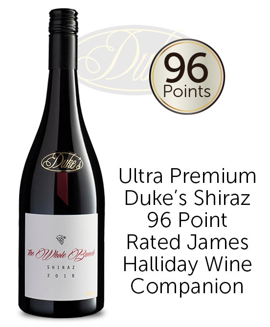 Dukes The Whole Bunch Great Southern Shiraz 2018