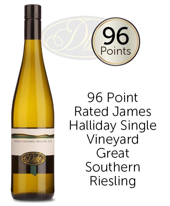 Dukes Single Vineyard Great Southern Riesling 2020