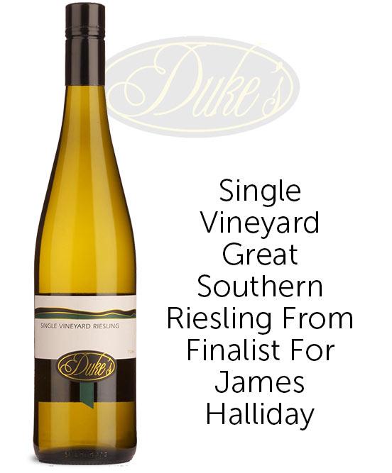 Dukes Single Vineyard Great Southern Riesling 2021