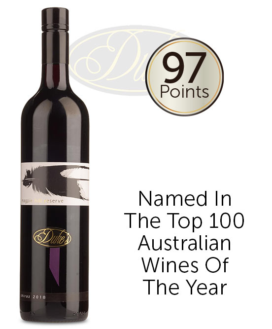 Dukes Vineyard Magpie Hill Great Southern Shiraz 2018