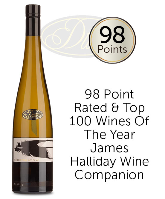 Dukes Vineyard Magpie Hill Reserve Riesling 2020
